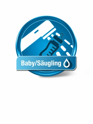 Wassertest Säugling